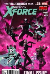 Marvel Comics's Uncanny X-Force Issue # 35