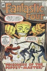 Marvel Comics's Fantastic Four Issue # 8