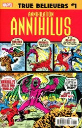 Marvel Comics's True Believers: Annihilation - Annihilus Issue # 1