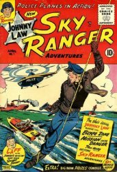 Good Comics, Inc.'s Johnny Law Sky Ranger Issue # 1