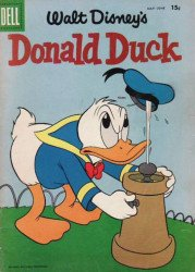 Dell Publishing Co.'s Donald Duck Issue # 59b