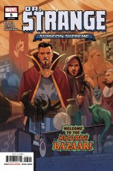 Marvel Comics's Doctor Strange: Surgeon Supreme Issue # 5