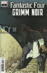 Marvel Comics's Fantastic Four: Grimm Noir Issue # 1b