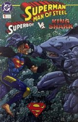 DC Comics's Superman: Man of Steel - Superboy vs King Shark Issue # 1