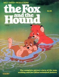 Golden Press's The Fox and the Hound Issue # 1