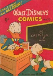W.G.(Wogan)Publications's Walt Disney's Comics Issue # 73