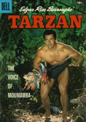 Dell Publishing Co.'s Tarzan Issue # 104
