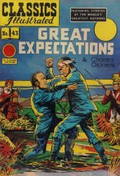 Gilberton Publications's Classics Illustrated #43: Great Expectations Issue # 1b