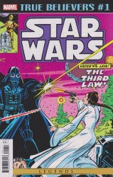 Marvel Comics's True Believers: Star Wars - Vader vs Leia Issue # 1