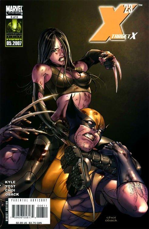 X 23 Marvel X-23: Target X ...