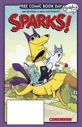 Graphix's Sparks! Issue fcbd