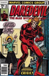 Marvel Comics's Daredevil Issue # 151