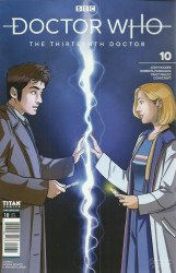 Titan Comics's Doctor Who: 13th Doctor Issue # 10c