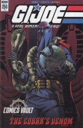 IDW Publishing's G.I. Joe: A Real American Hero Issue # 256c.vault-a