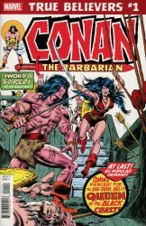 Marvel Comics's True Believers: Conan - Queen Of The Black Coast  Issue # 1