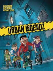 Humanoids Publishing's Urban Legendz Hard Cover # 1