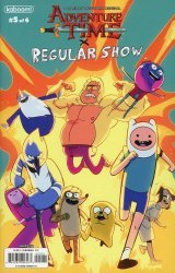 KaBOOM!'s Adventure Time / Regular Show Issue # 5c