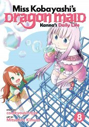 Seven Seas Entertainment's Miss Kobayashi's Dragon Maid: Kanna's Daily Life Soft Cover # 8