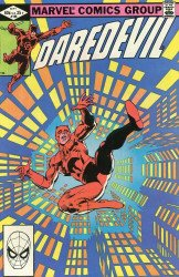 Marvel Comics's Daredevil Issue # 186
