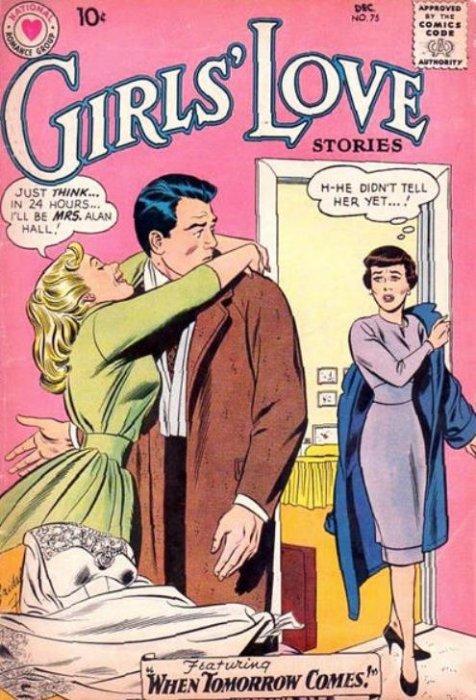 girls u0026 39  love stories 75  dc comics
