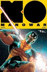 Valiant Entertainment's X-O Manowar Issue # 1nerd store