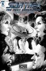 IDW Publishing's Star Trek the Next Generation: Through the Mirror Issue # 5re