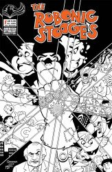 American Mythology's The Robonic Stooges Issue # 1c
