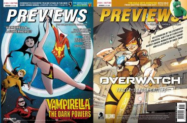 Diamond Comics Distribution's Previews Issue # 385