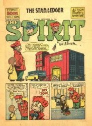 Eisner Studios's The Spirit Weekly Issue # 336