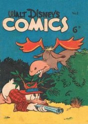 W.G.(Wogan)Publications's Walt Disney's Comics Issue # 2