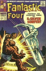 Marvel Comics's Fantastic Four Issue # 55