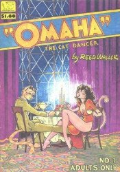 SteelDragon Press's Omaha the Cat Dancer Issue # 1