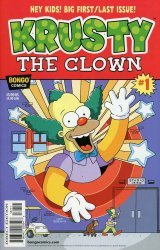 Bongo Comics's Krusty The Clown Issue # 1