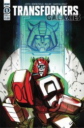 IDW Publishing's Transformers: Galaxies Issue # 6b