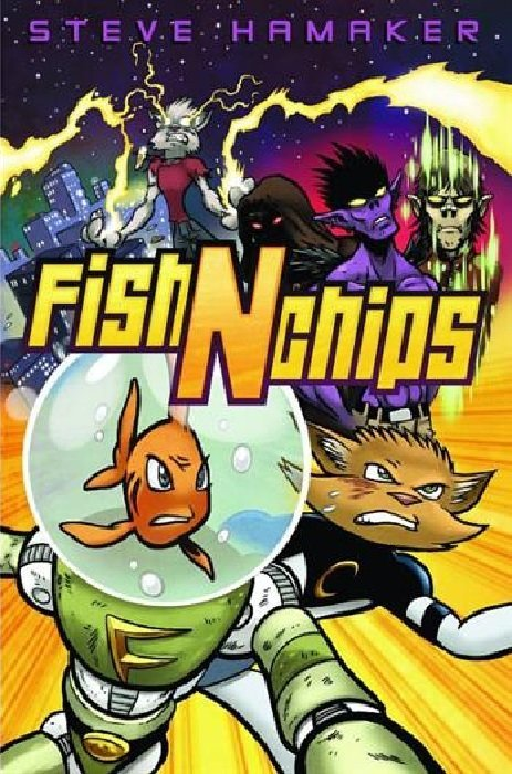 Fish N Chips Cartoon Characters : Fish n chips tpb cartoon books comicbookrealm