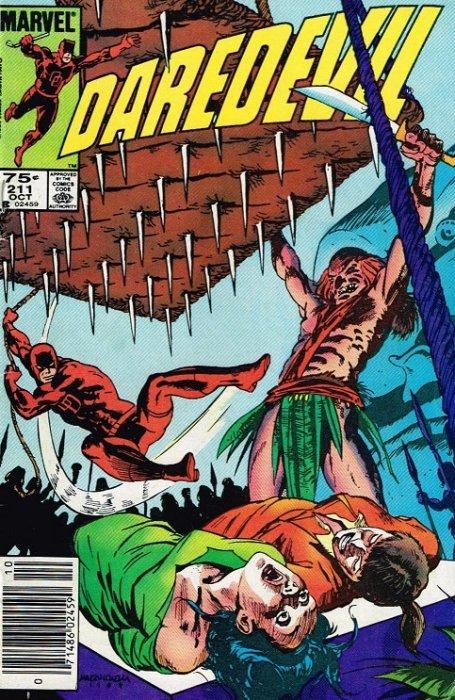 Marvel Comicss Daredevil Issue 211b