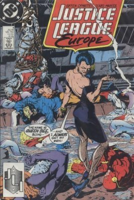 1989 VF//NM DC Justice League Europe # 1
