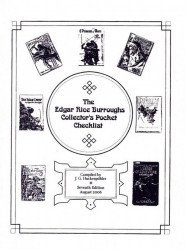 J.G. Huckenpohler's Edgar Rice Burroughs Collector's Pocket Checklist Issue # 7