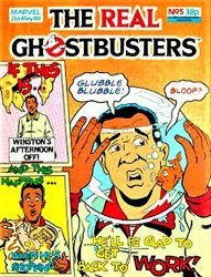 Marvel UK's The Real Ghostbusters Issue # 5