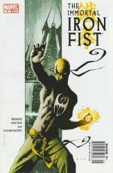 Marvel Comics's Immortal Iron Fist Issue # 1b
