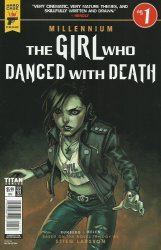 Titan Comics's Hard Case Crime: Millennium - The Girl Who Danced with Death Issue # 1b