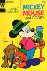 Gold Key's Mickey Mouse Issue # 145whitman