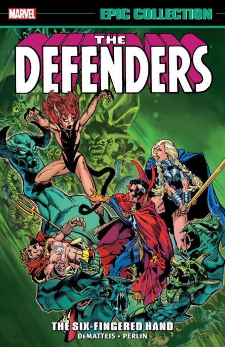 DEFENDERS EPIC COLLECTION TPB THE NEW DEFENDERS MARVEL NEW//UNREAD