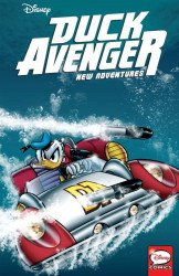 IDW Publishing's Duck Avenger TPB # 3