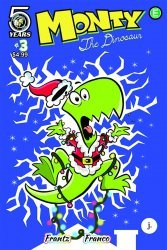 Action Lab Entertainment's Monty the Dinosaur Issue # 3b