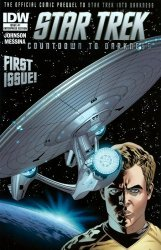 IDW Publishing's Star Trek: Countdown to Darkness Issue # 1g