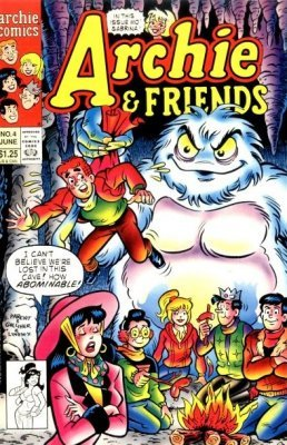 Archie Comics Groups Friends Issue 4
