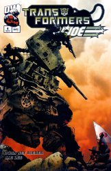 Dreamwave's Transformers / G.I. Joe Issue # 4