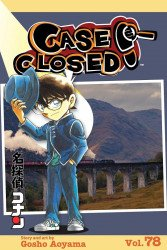 Shojo Beat Manga's Case Closed Soft Cover # 78