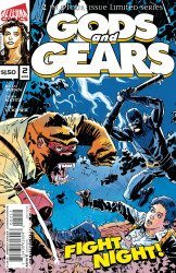 Alterna Comics's Gods And Gears Issue # 2
